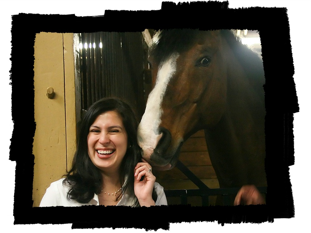 Valentina with Horse