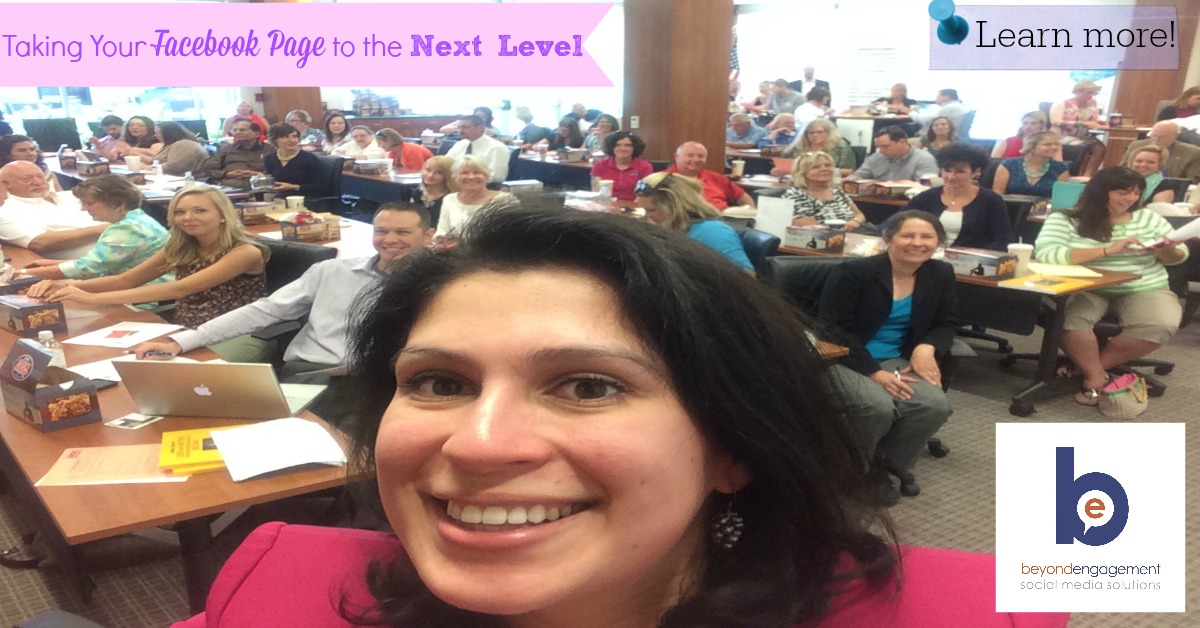 Taking Your Facebook Page to the Next Level, Advanced Facebook Workshop held at KOSBE Office in Kingsport, TN