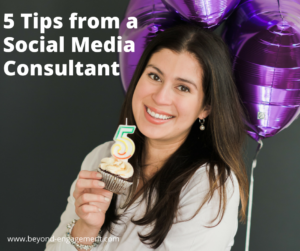 5 Tips from a Social Media Consultant