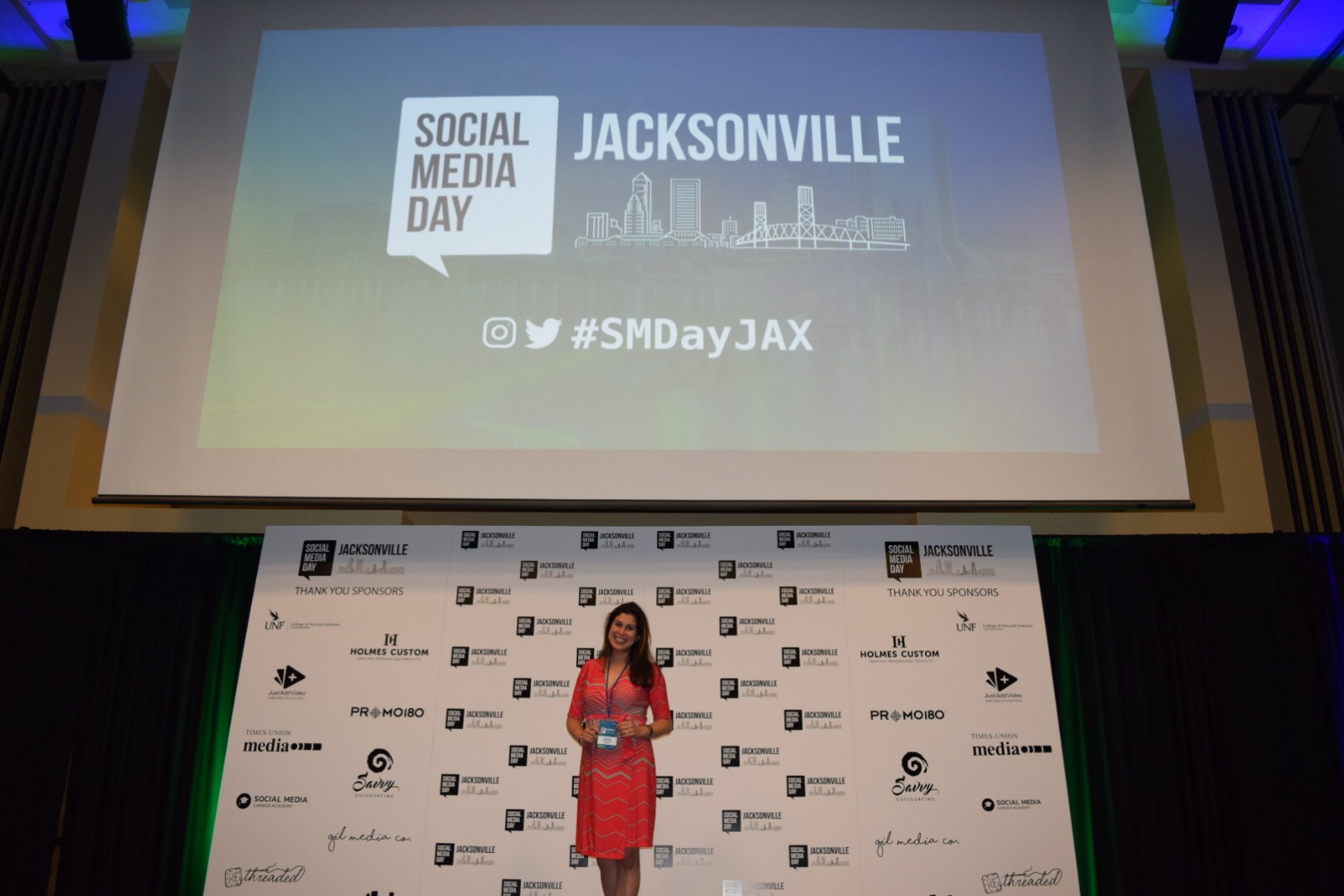 Social Media Day Jacksonville 2018 - One tip from each presenter with visual
