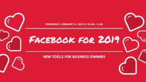 Facebook for 2019 Workshop in Feb