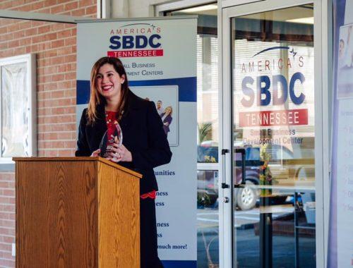 I received the #RisingStarAward through America's Small Business Development Center (SBDC).