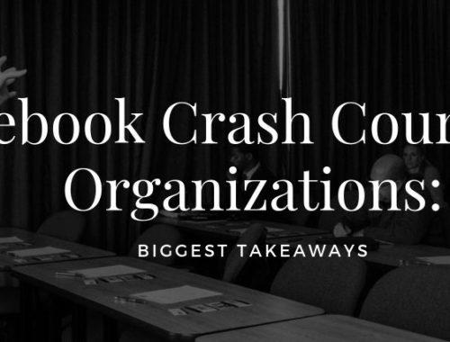 Facebook Crash Course for Organizations_