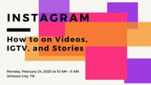Instagram: How to on Videos, IGTV, and Stories