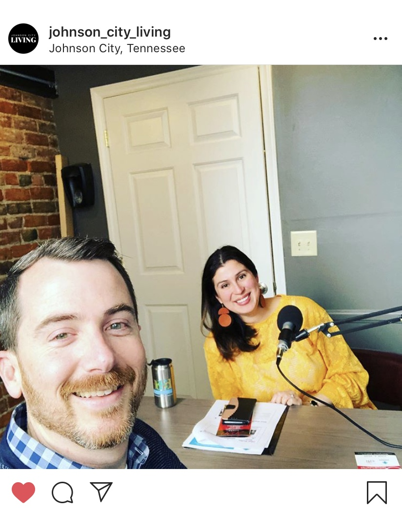 Featured in: Starting a business from scratch when you don't know anyone, Johnson City Living Podcast